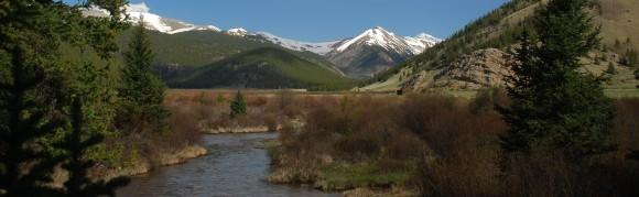 Burning Bear Trail near Grant, Colorado.