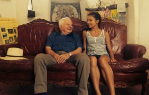 Dr. Xavier le Pichon, pictured here with one of his granddaughters.