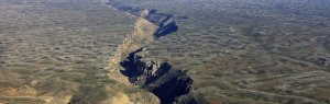 In 2005, a 35-mile rift opened in the earth in Ethiopia along the boundary between two tectonic plates.