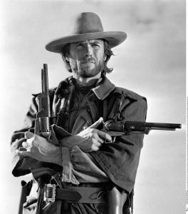 """Clint Eastwood as """"The Outlaw Josey Wales"""""""